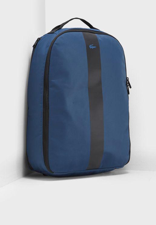 Reflective Stripe Backpack