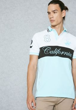 California Print Polo