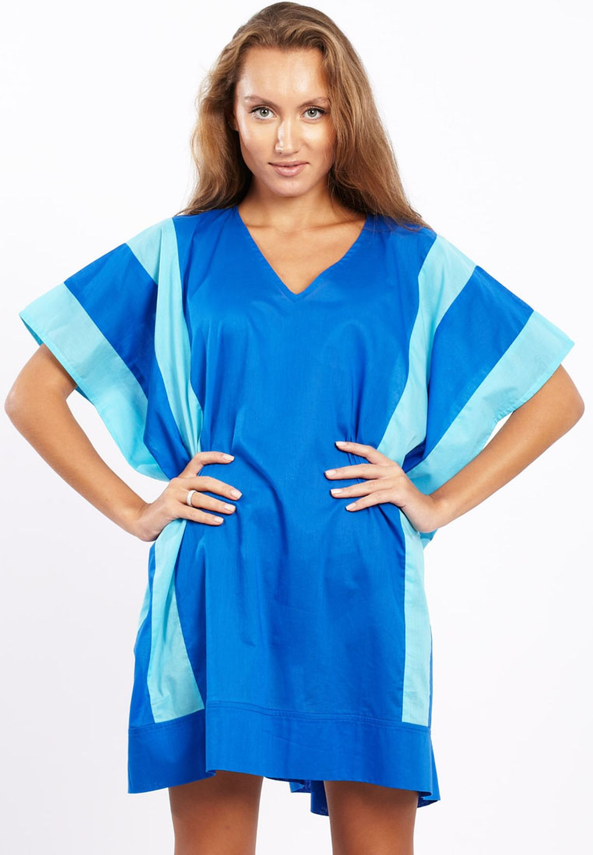 96ba870bf03 Shop Adini blue Casual Tunic for Women in Qatar - AD103AT20TJZ