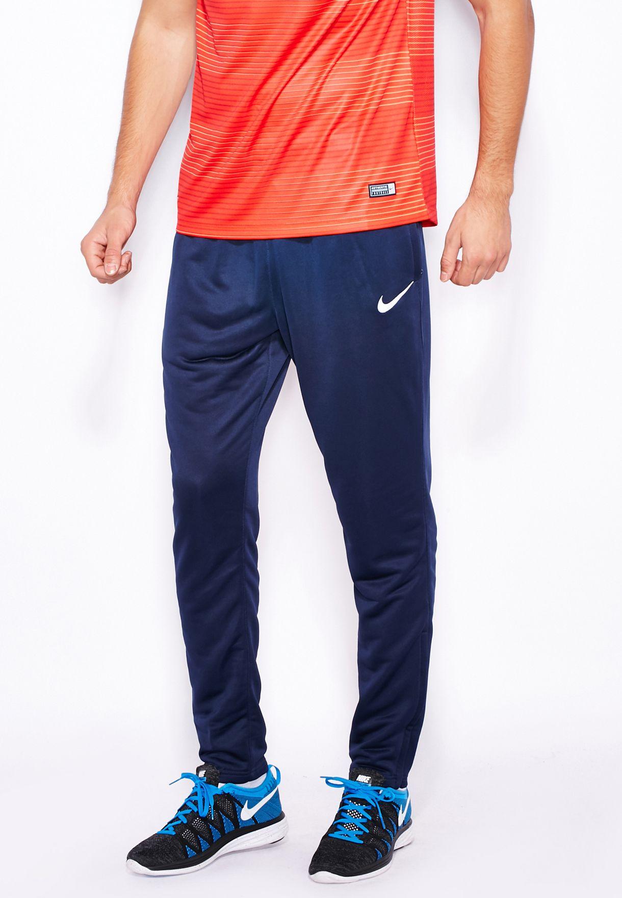3ea8a3971cd17 Shop Nike navy Academy Tech Pants 725931-451 for Men in Oman ...