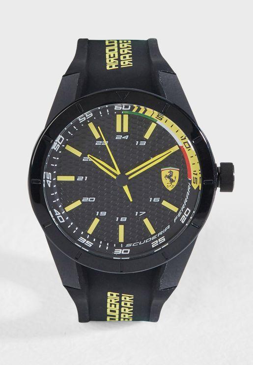 830302 Scuderia Ferrari Rev watch 44MM