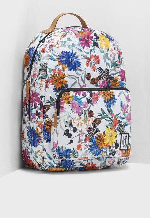 Flower Allover Backpack