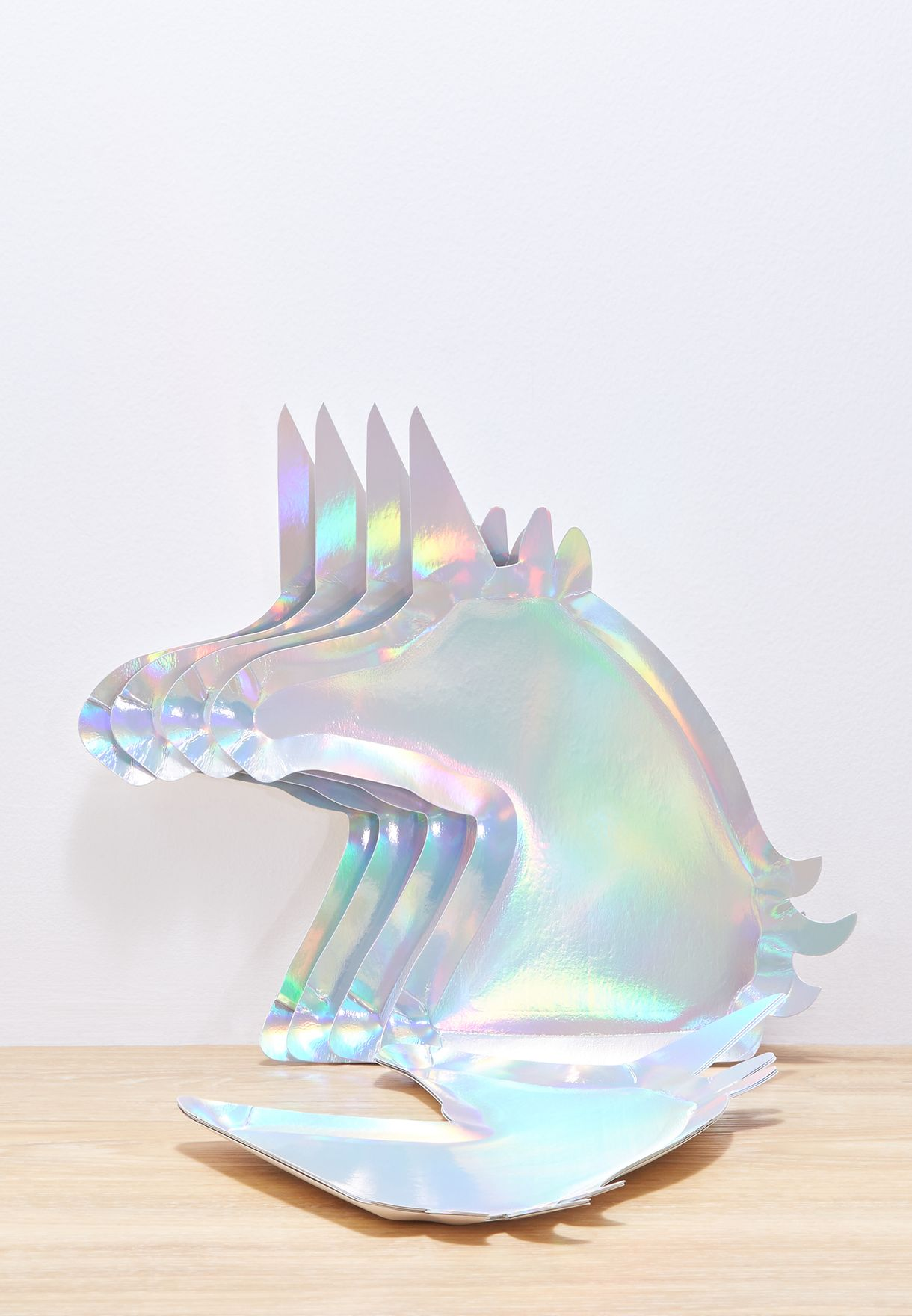 4 Pack Unicorn Party Plate
