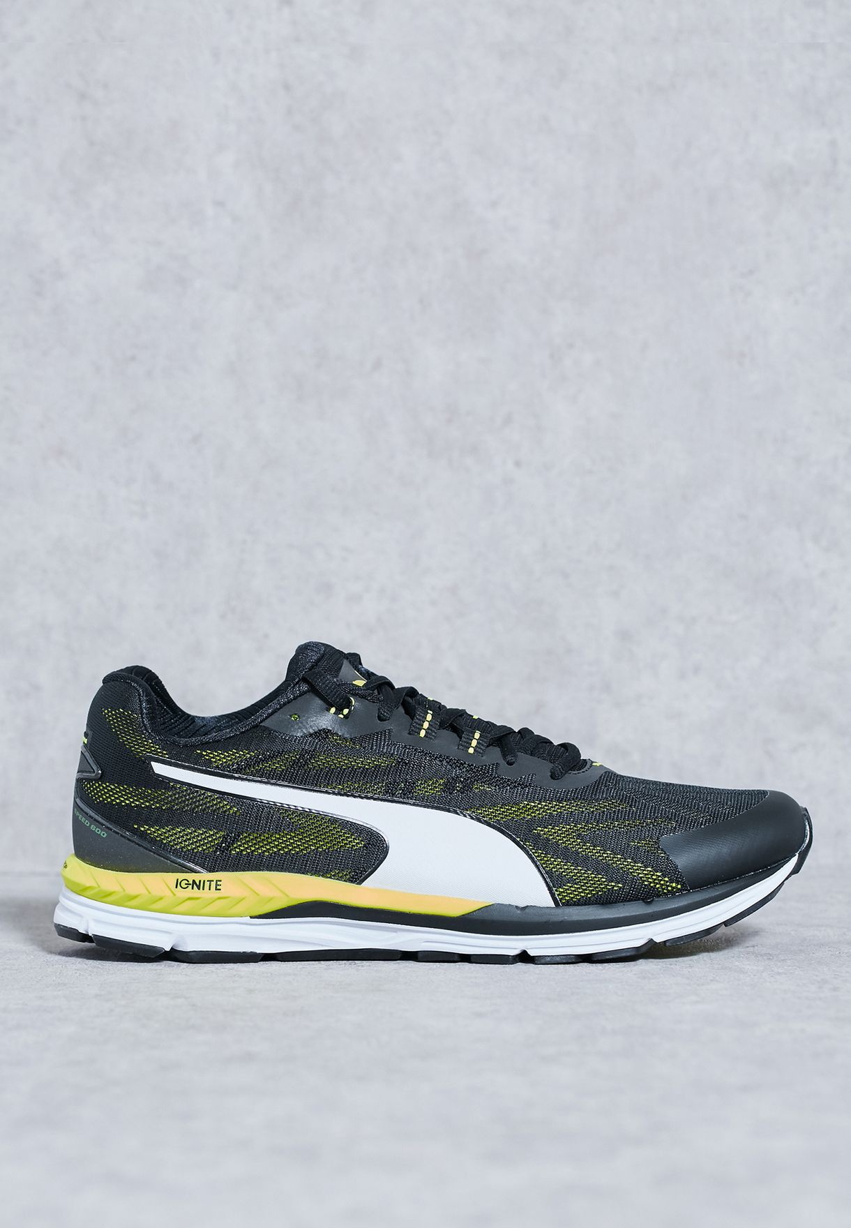 c66eb012083 Shop PUMA black Speed 600 Ignite 2 18951803 for Men in Qatar - PU020SH20ALF