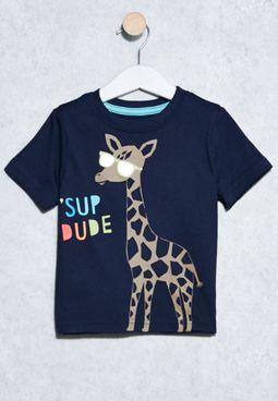 Infant Giraffe T-Shirt