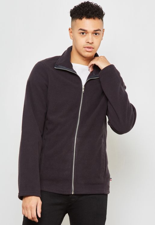 Polar Fleece Zip Through Sweatshirt