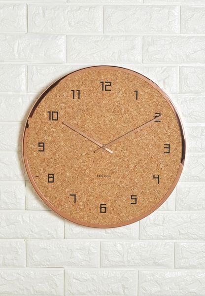 Modest Cork Wall Clock