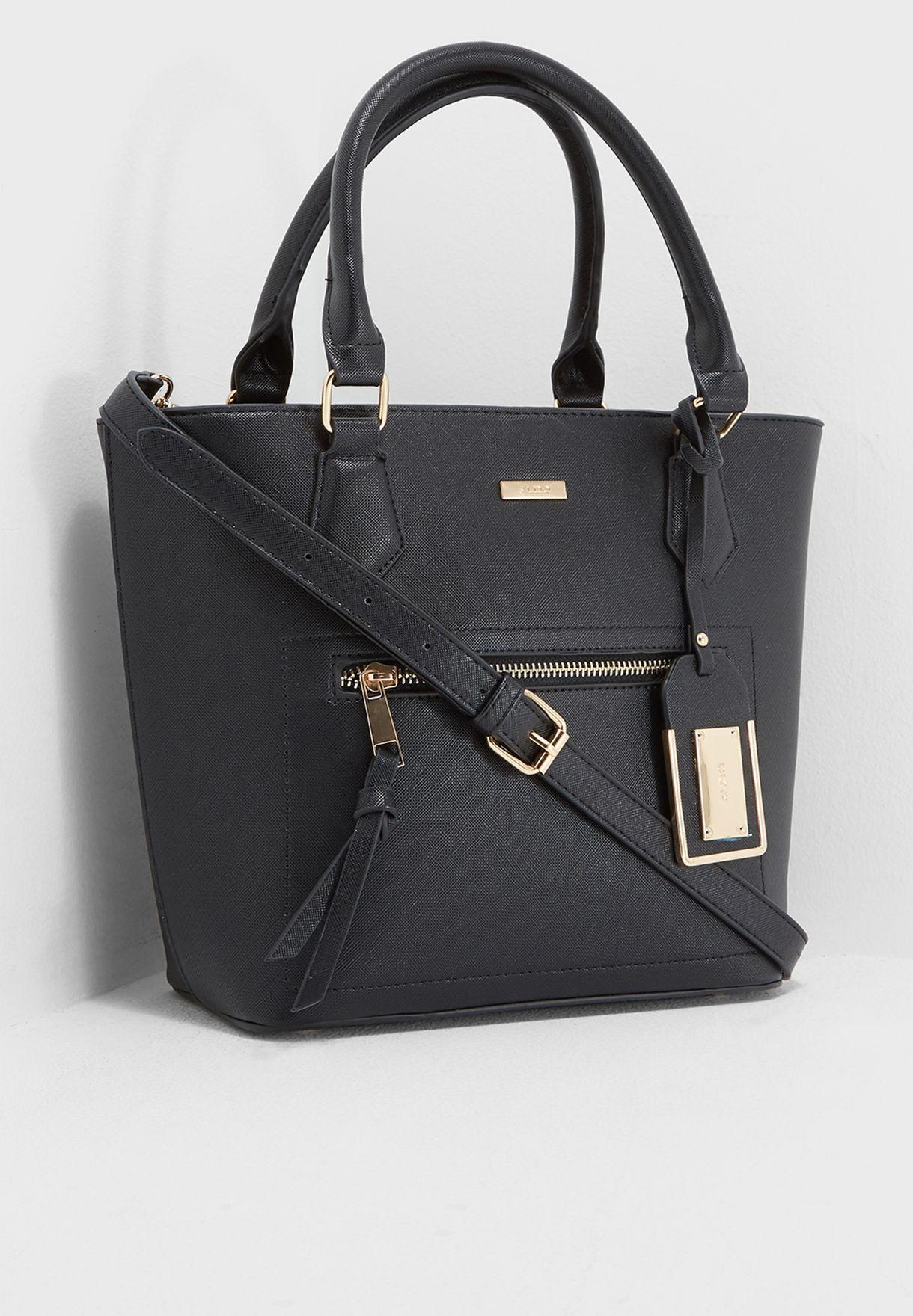 1aec49f5cb3 Shop Aldo black Occimiano Tote OCCIMIANO98 for Women in UAE ...