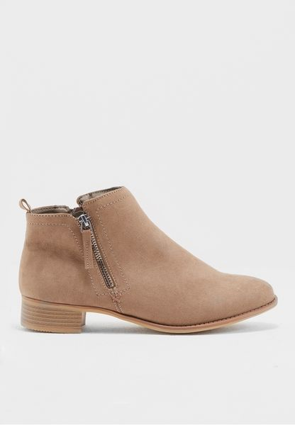 Mink Micha Ankle Boots