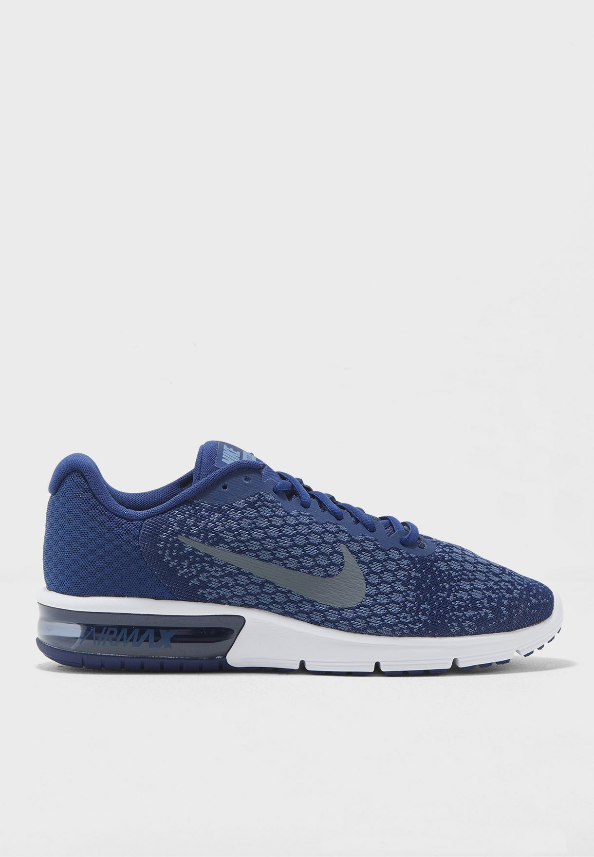 81e22c1fcd Shop Nike navy Air Max Sequent 2 852461-406 for Men in UAE ...