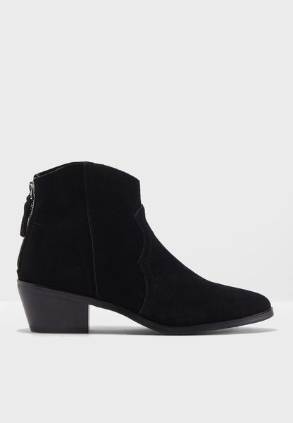 Betty Western Ankle Boot