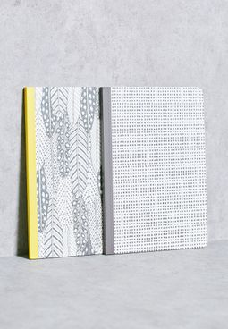 2 Pack A5 Notebooks