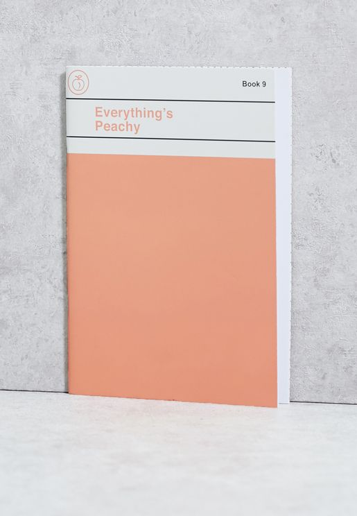 A5 Everything's Peachy Notebook