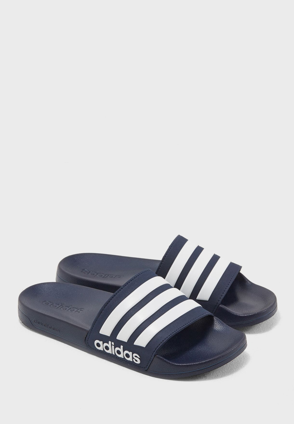 c77e9aaa3cd9 Shop adidas navy CF Adilette Slides AQ1703 for Men in UAE - AD476SH20THJ