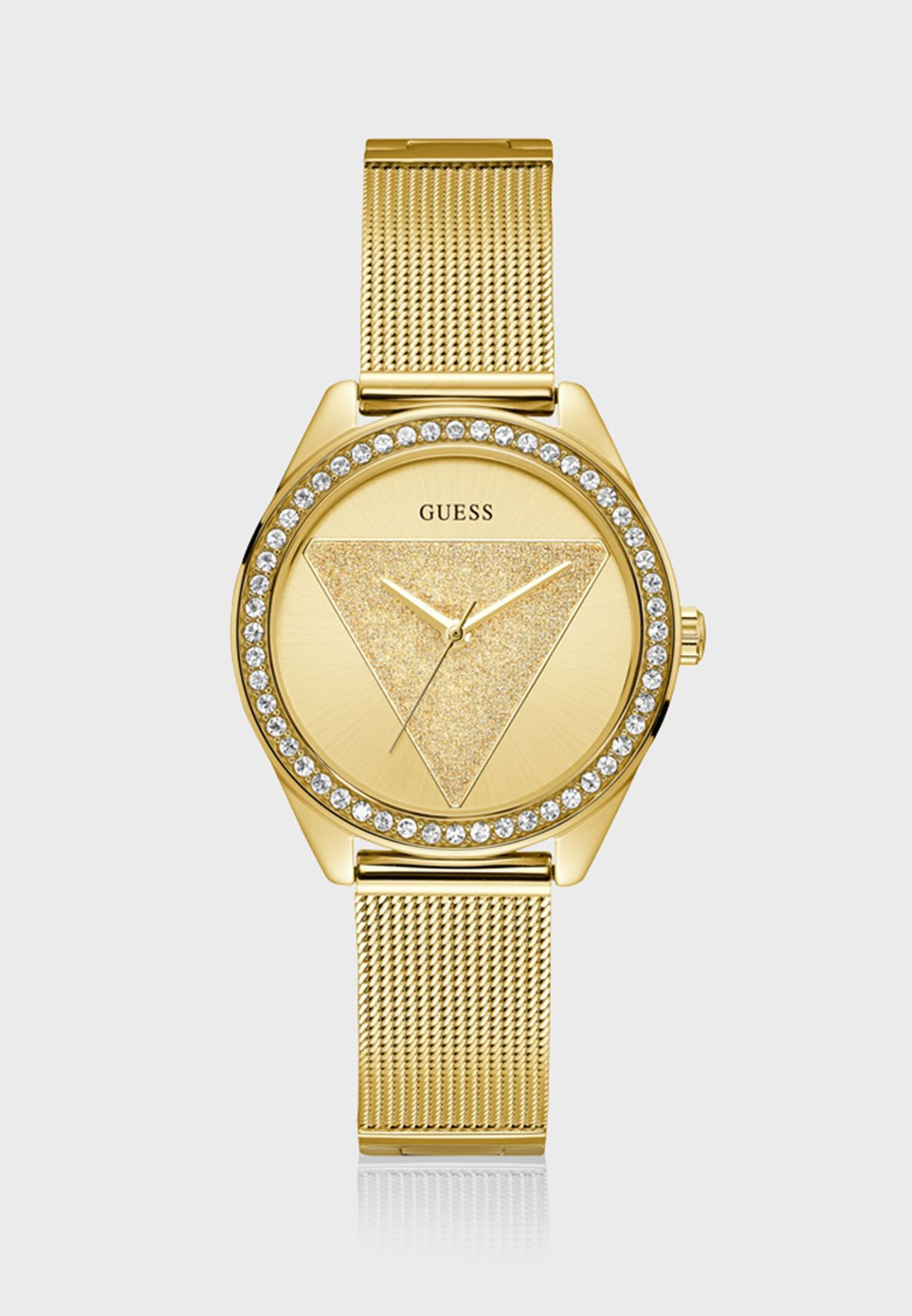 527beb8221e39 تسوق ساعة تري جليتز انالوج ماركة جيس لون ذهبي W1142L2 في قطر ...