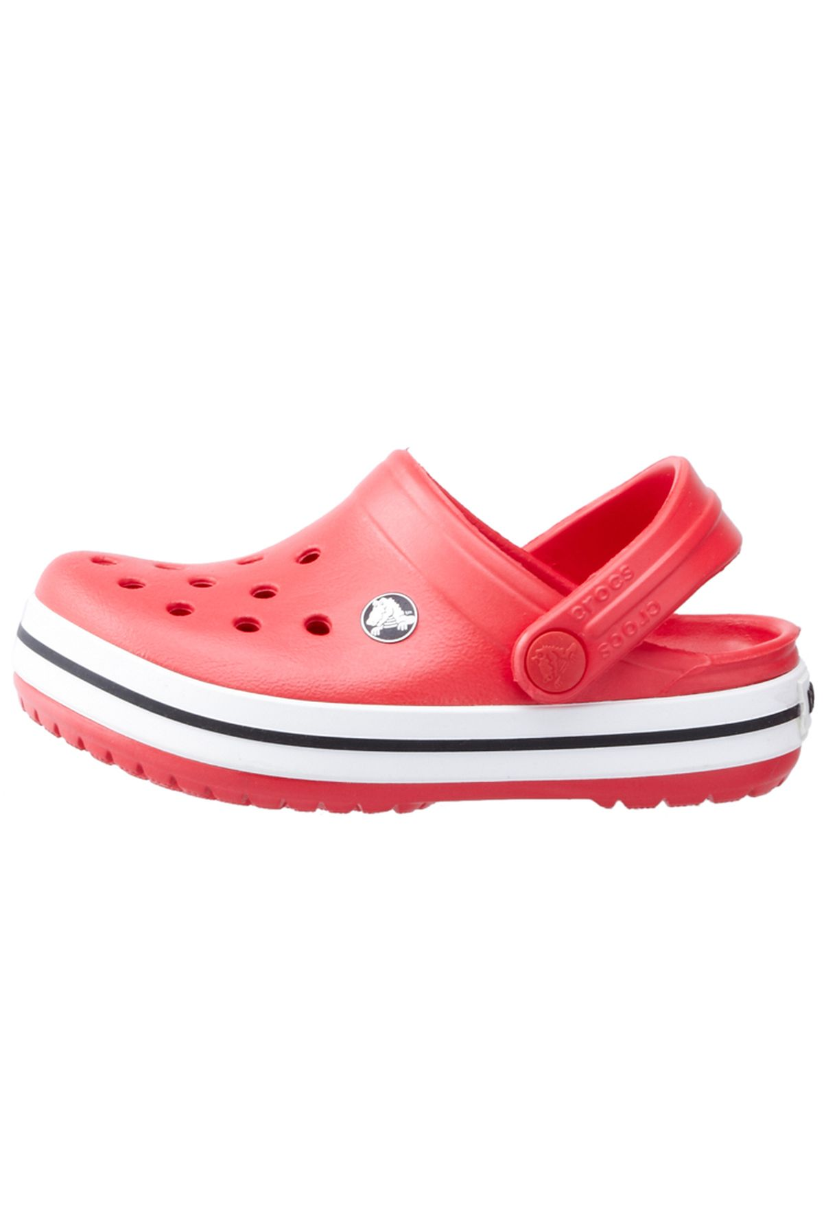 db9364c0f تسوق Crocband Kids ماركة كروكس لون أحمر في السعودية - CR260SH10HHX