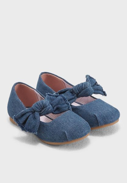Kids Denim Ballerina