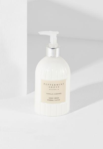Vanilla Caramel Hand Cream Pump