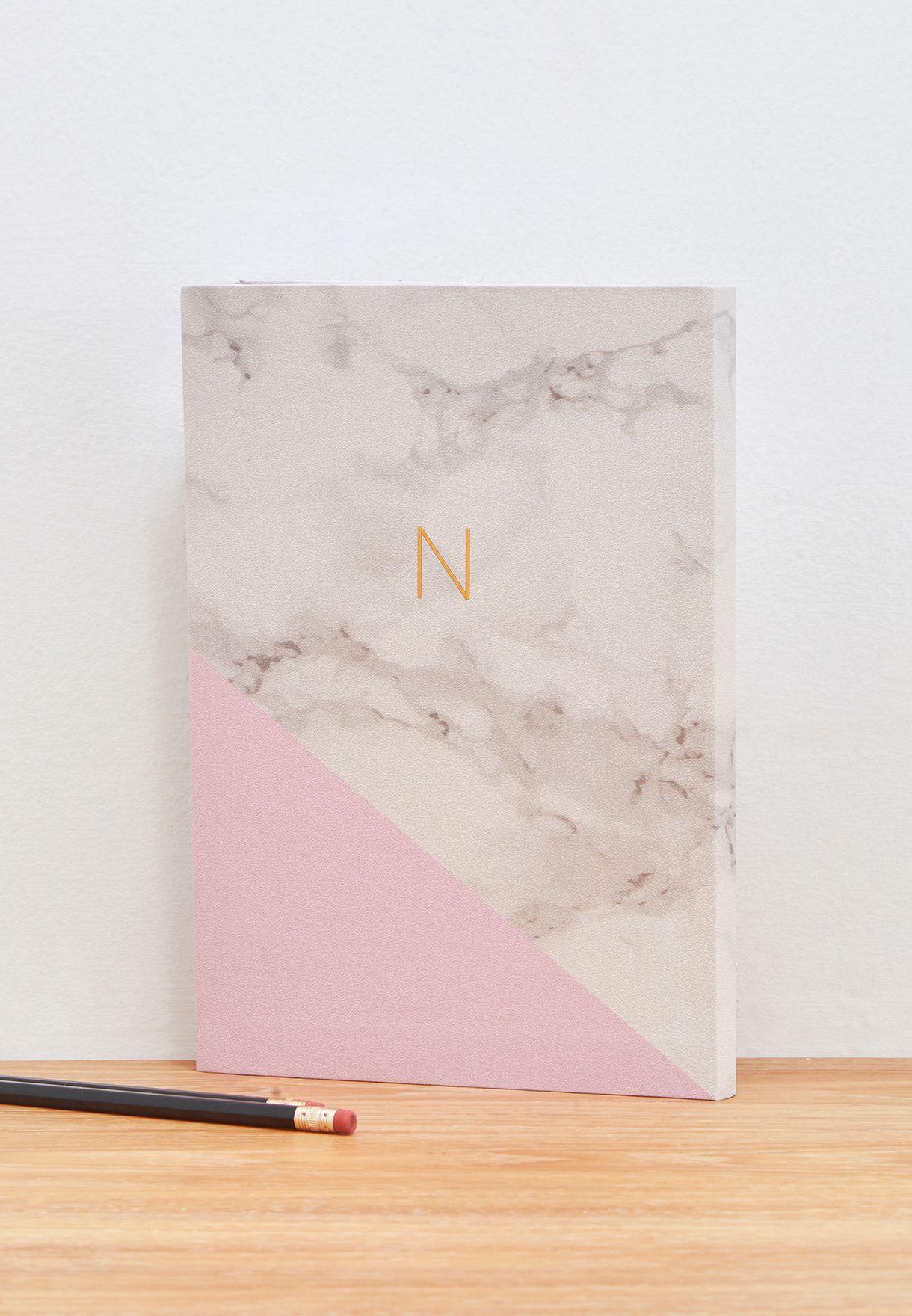 Premium Monogram Notebook N - B5 17.5x25cm