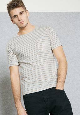 Casual Breton Striped T-Shirt