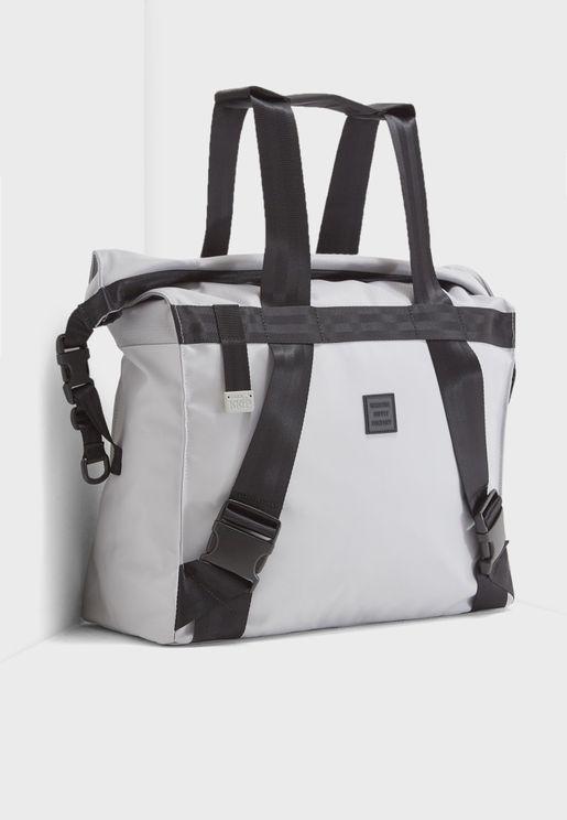 Rolltop Transformative Messenger Backpack