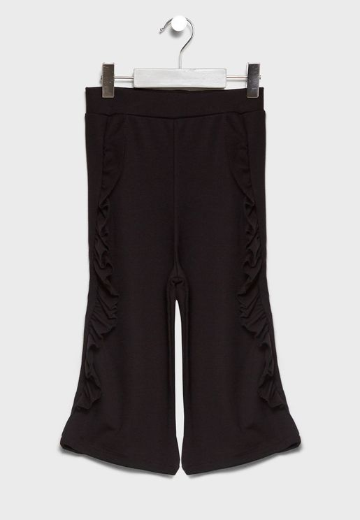 Little Frill Detail Trousers