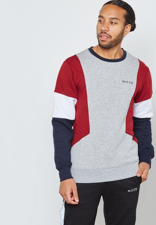 Union Colourblock Sweatshirt