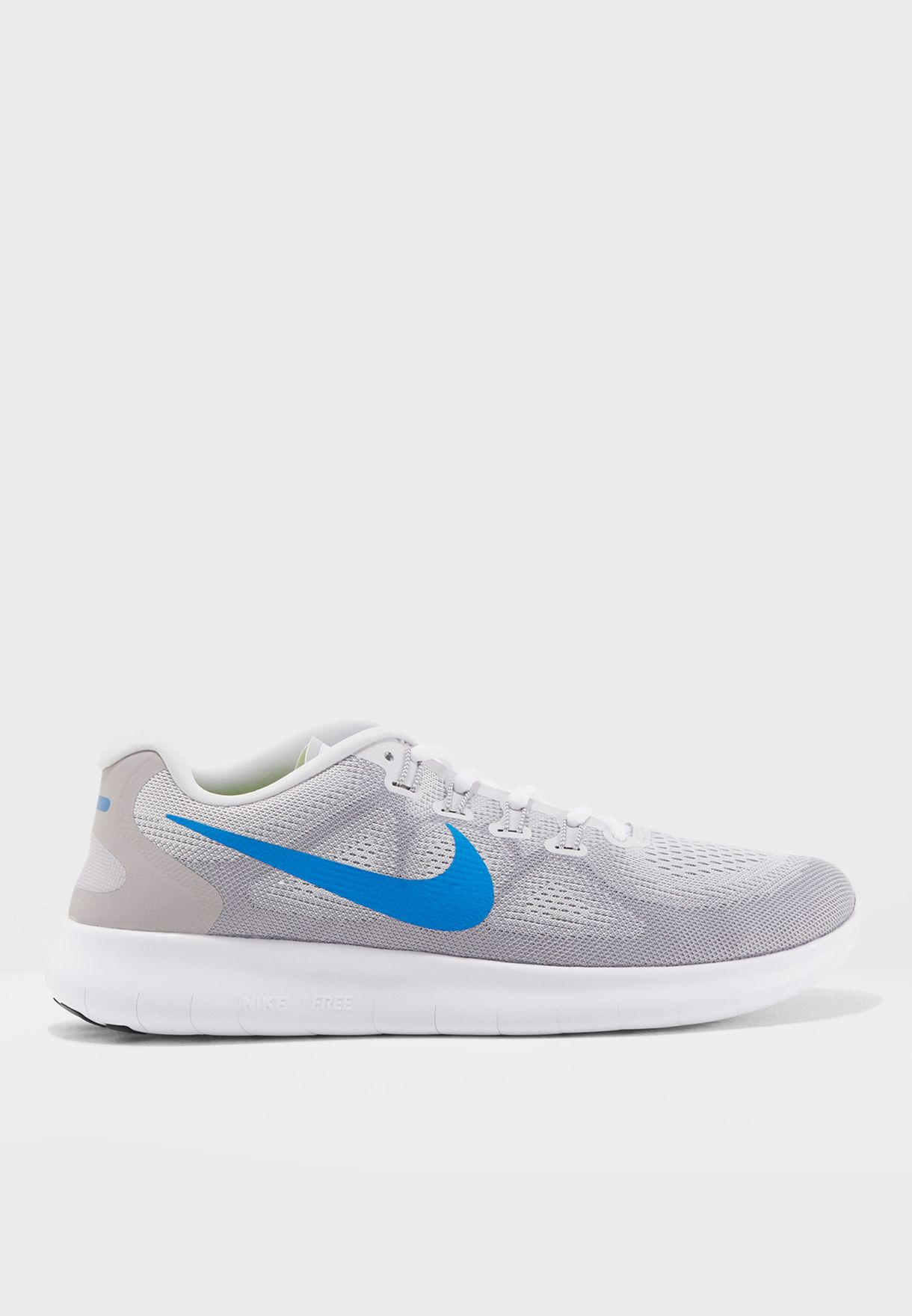 a24220218b6fe Shop Nike grey Free RN 2017 880839-009 for Men in UAE - NI727SH10ZRD