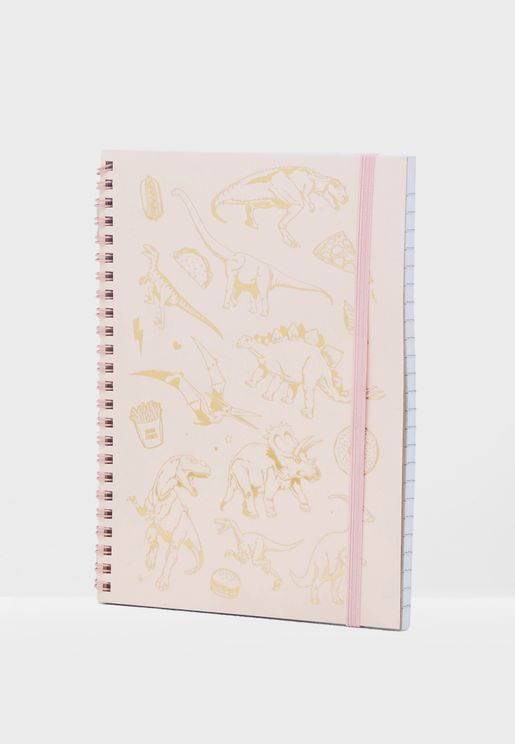 A-5 Dinosaurs Spinout Notebook
