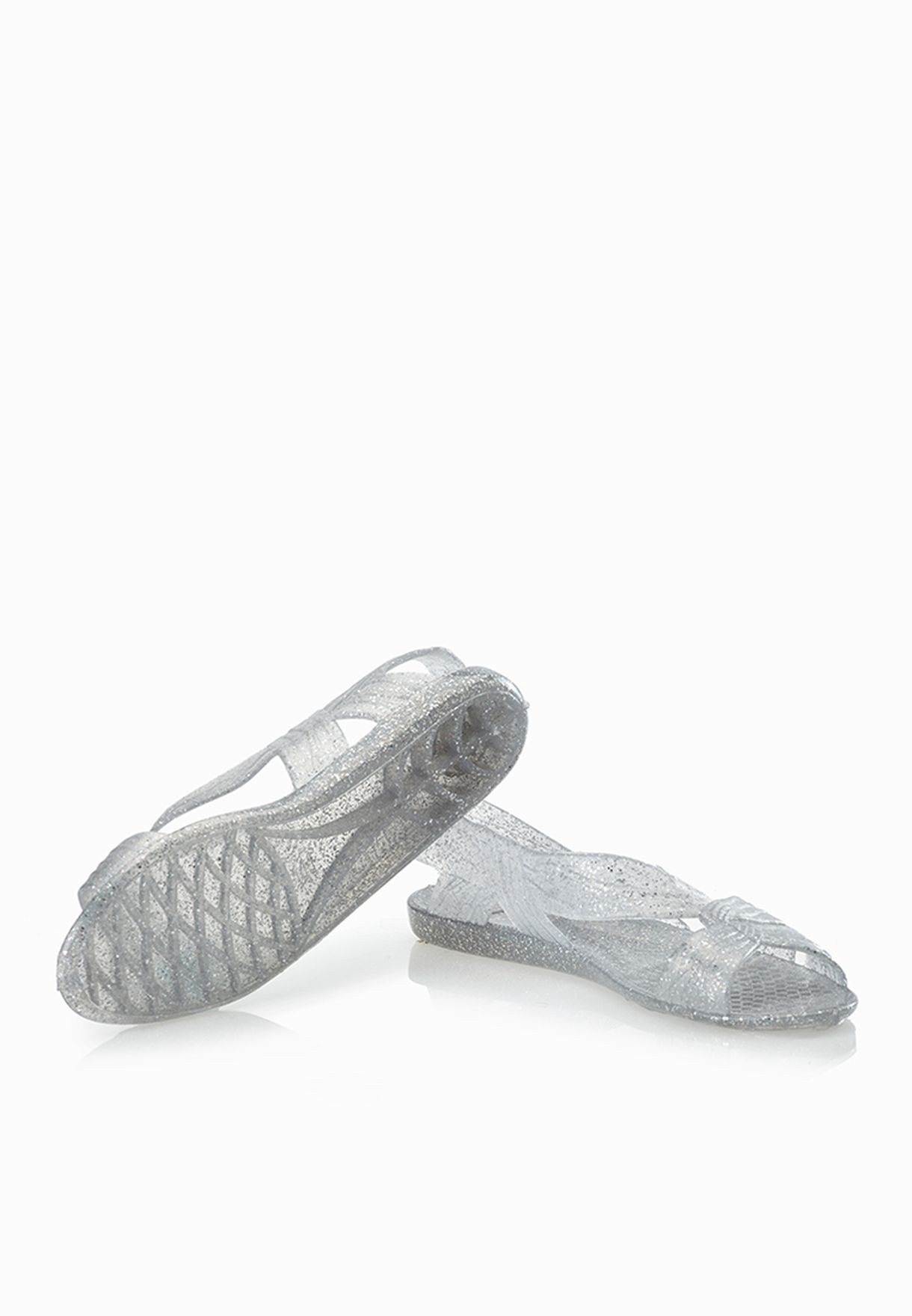 65a603c6f607 Shop Juju neutrals Fergie Stylish Jelly Sandals for Women in Qatar ...