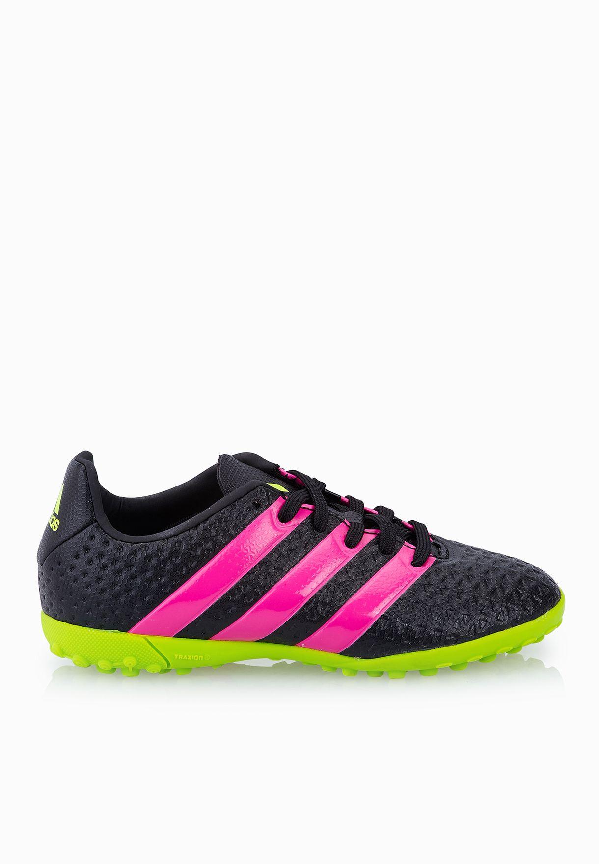 newest collection cbd34 39772 Shop adidas black Ace 16.4 TF Kids AF5081 for Kids in Saudi - AD476SH10VSR