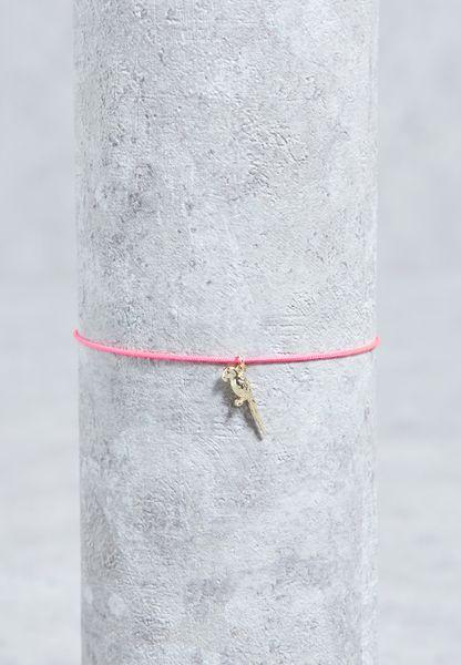 Parrot Charm  Bracelet