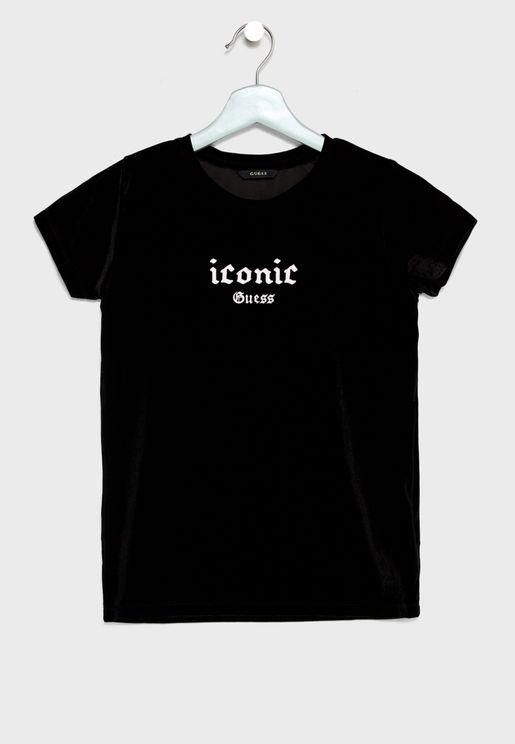 Teen Logo Detail T-Shirt
