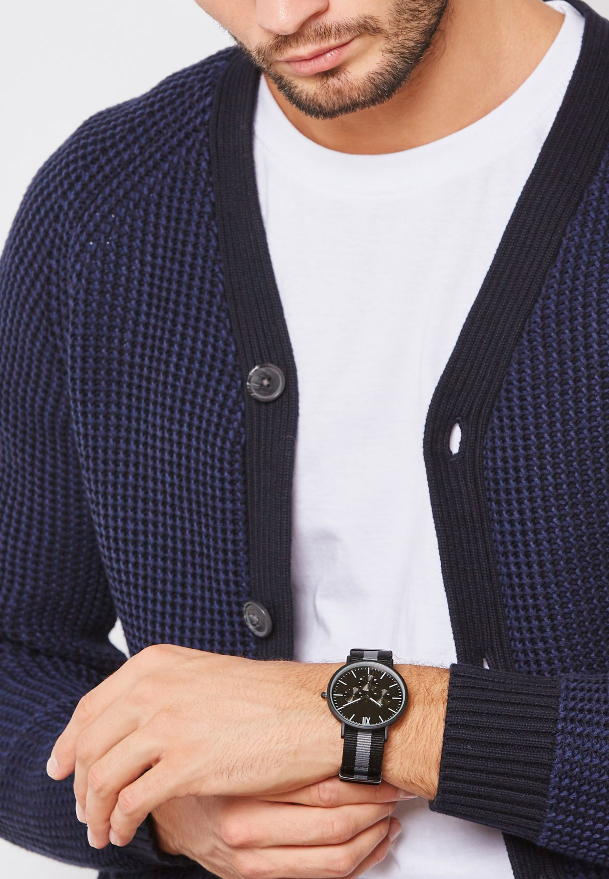 Dual Strap Casual Watch Set