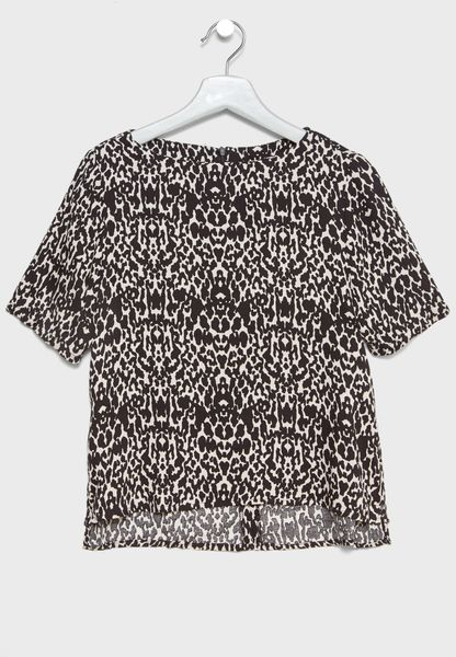 Teen Printed Top
