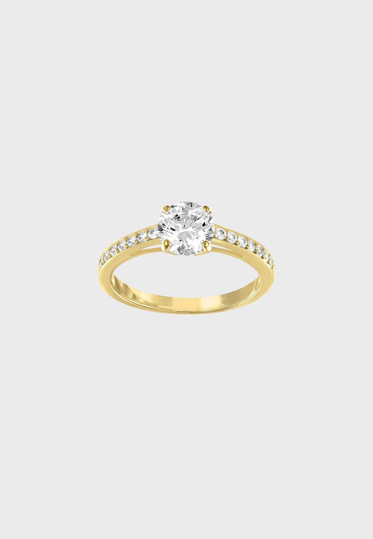 Shop Swarovski gold Attract Round Ring 5112157 5139067 5139633 5139635 for  Women in Qatar - SW493AC10TXD 11f448e51d