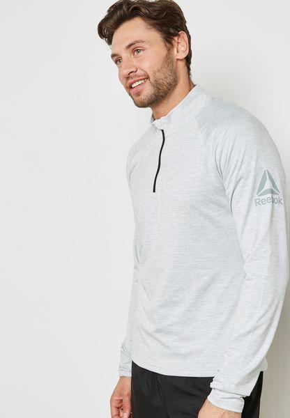 Reflective Speedwick Quarter Zip T-Shirt