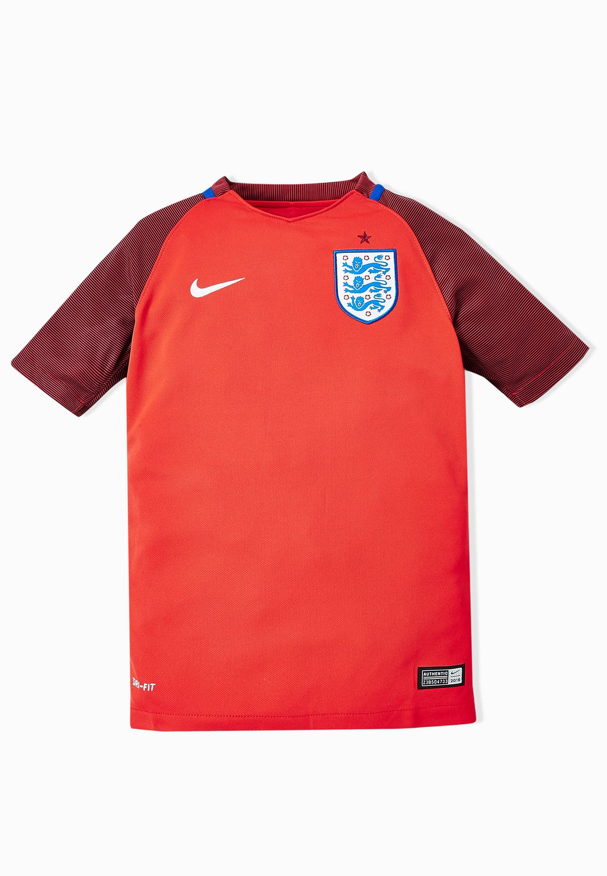 0612a8205cd Shop Nike red Youth England Away Stadium Jersey 724693-600 for Kids ...