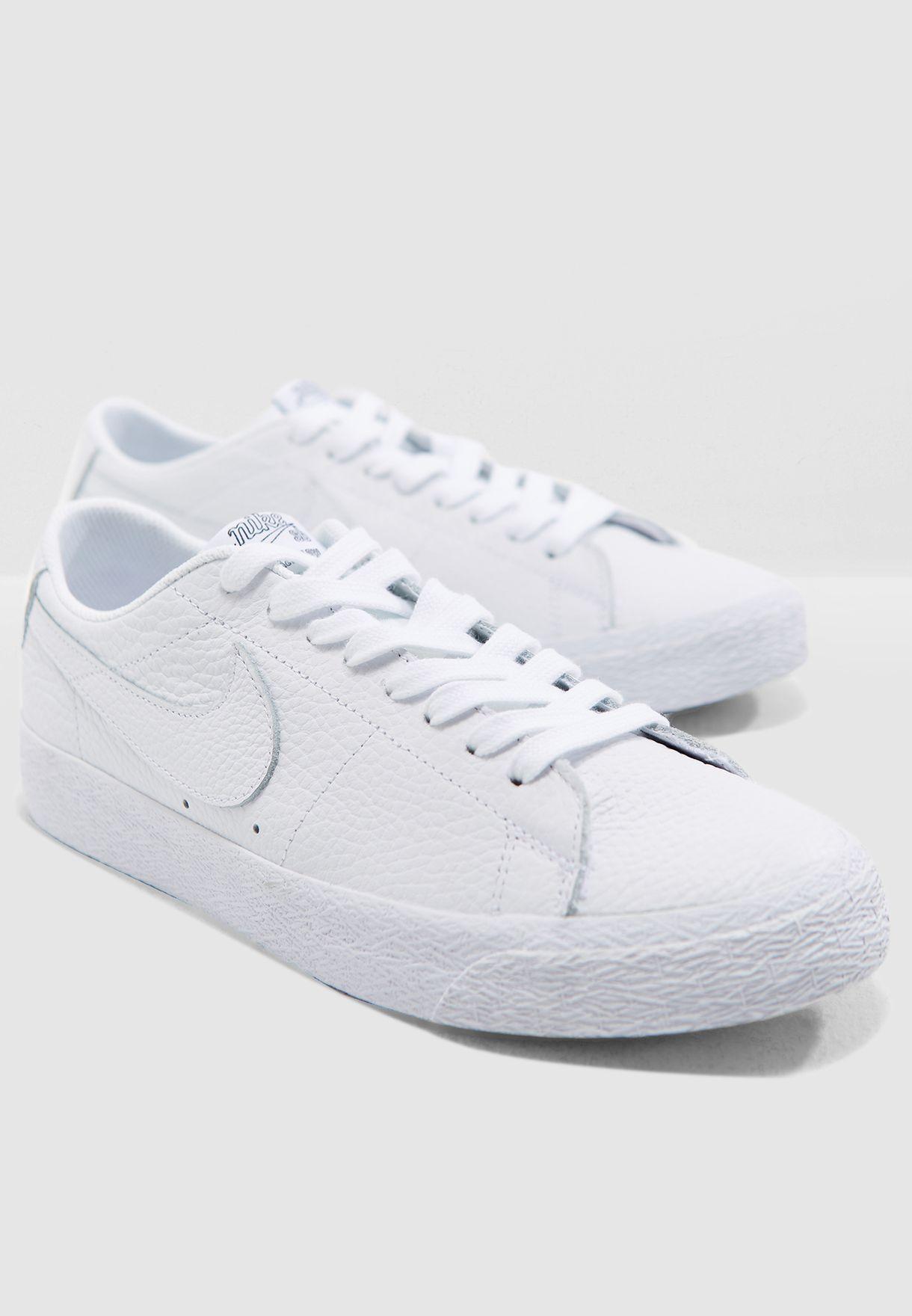 3e56bc780af4 Shop Nike white SB Zoom Blazer Low NBA AR1576-114 for Men in UAE ...