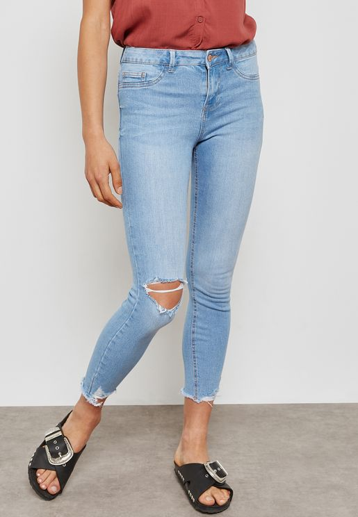 Skiny Ripped Jeans