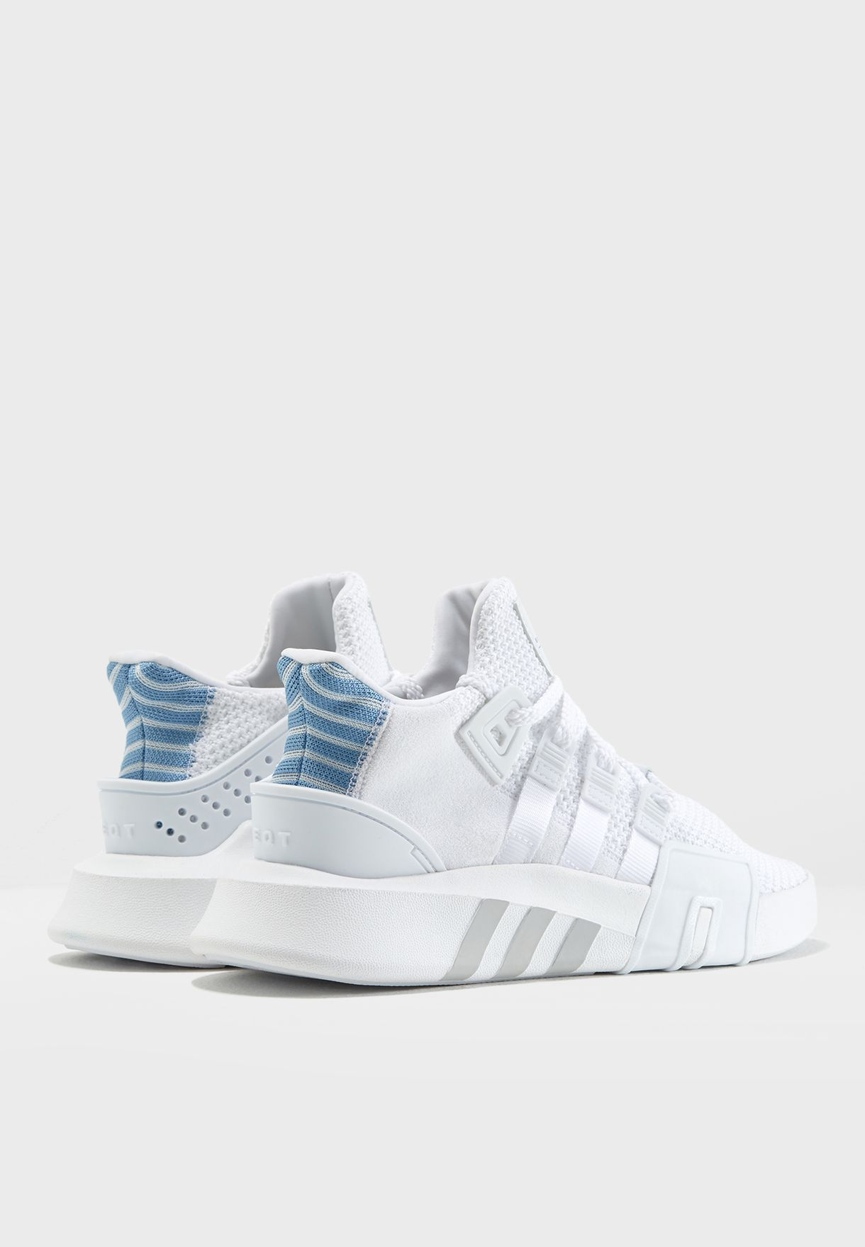 Shop adidas Originals white EQT Bask ADV AC7354 for Women in ... 427bcfc64