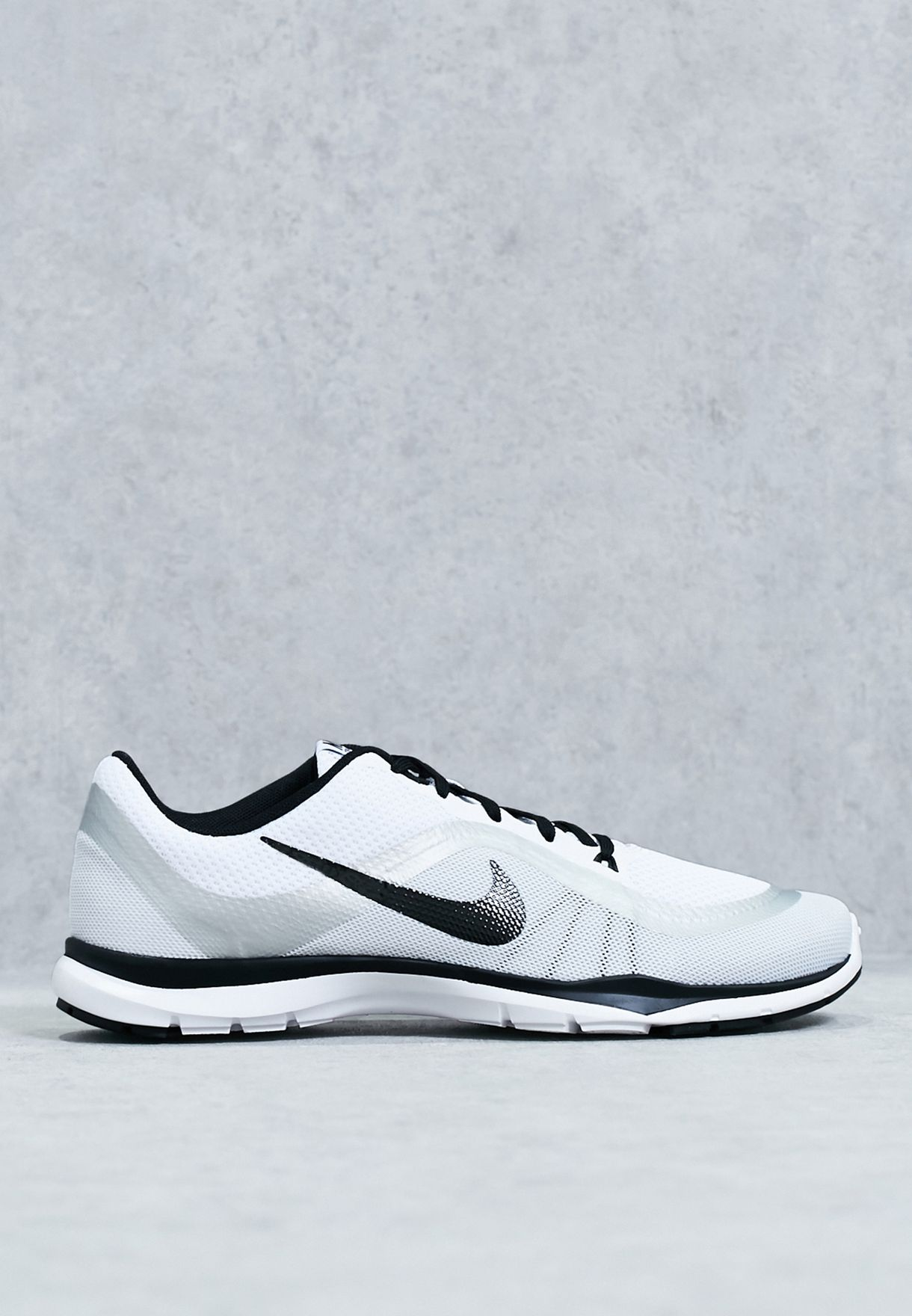Buy Nike white Flex Trainer 6 for Women