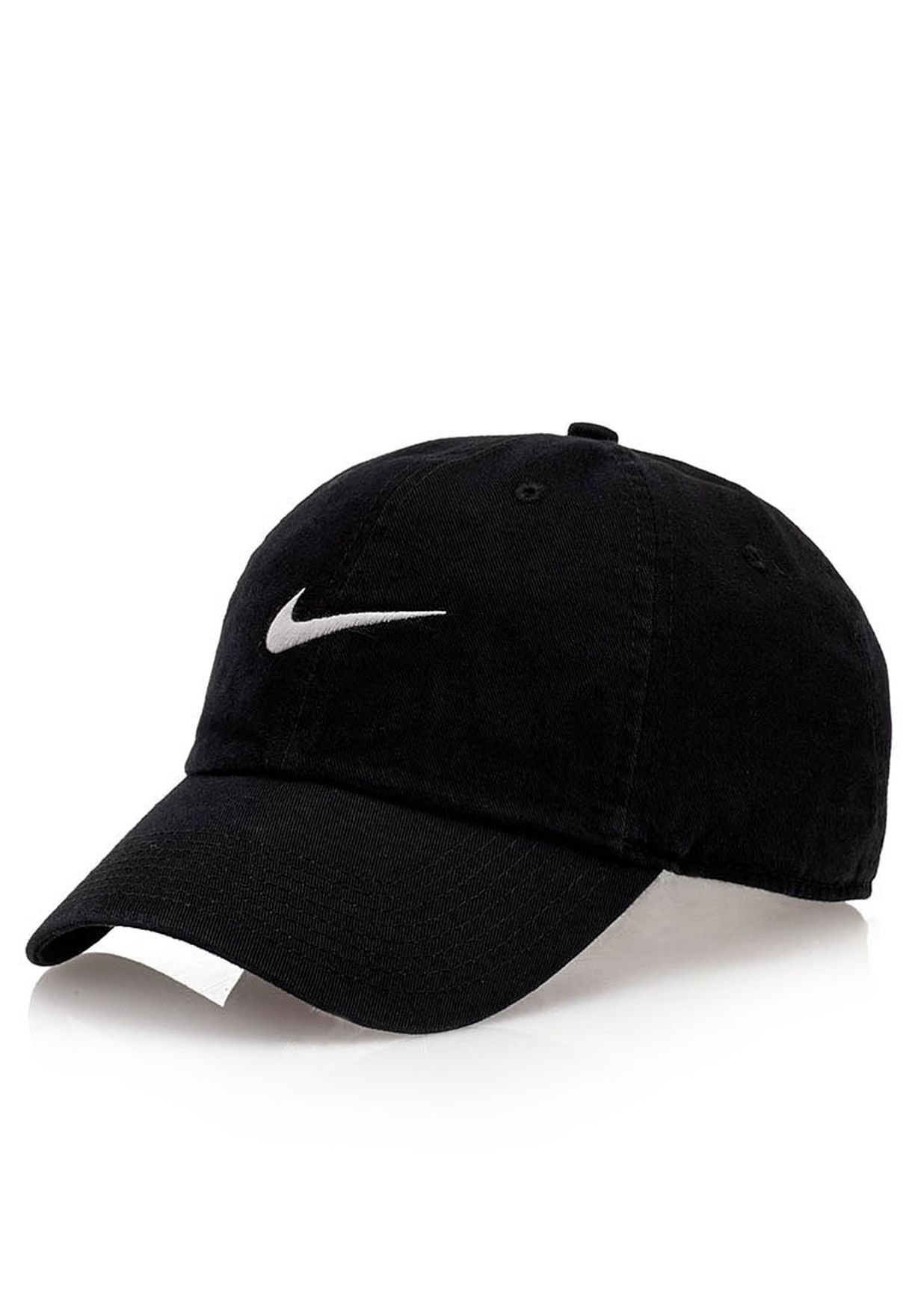 9c9e2e3cbed Shop Nike black Heritage Swoosh Cap 546126-010 for Men in UAE ...