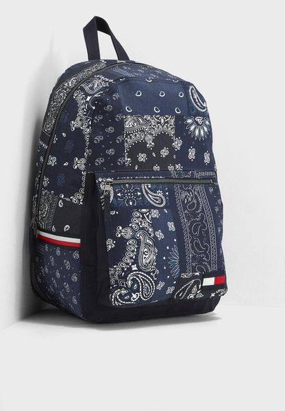 Print Bandana  Backpack