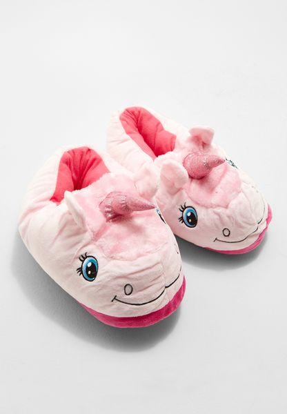Pink Unicorn 3D Slipper