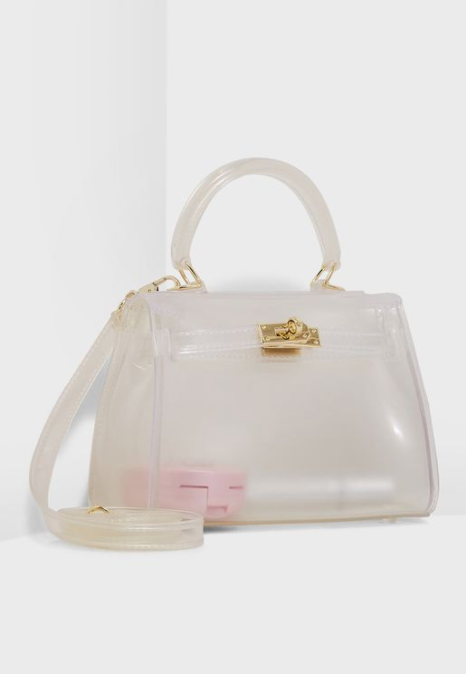 Transparent Satchel Bag
