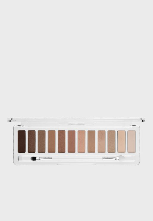 12 Pack Eyeshadow Palette - The Nudes