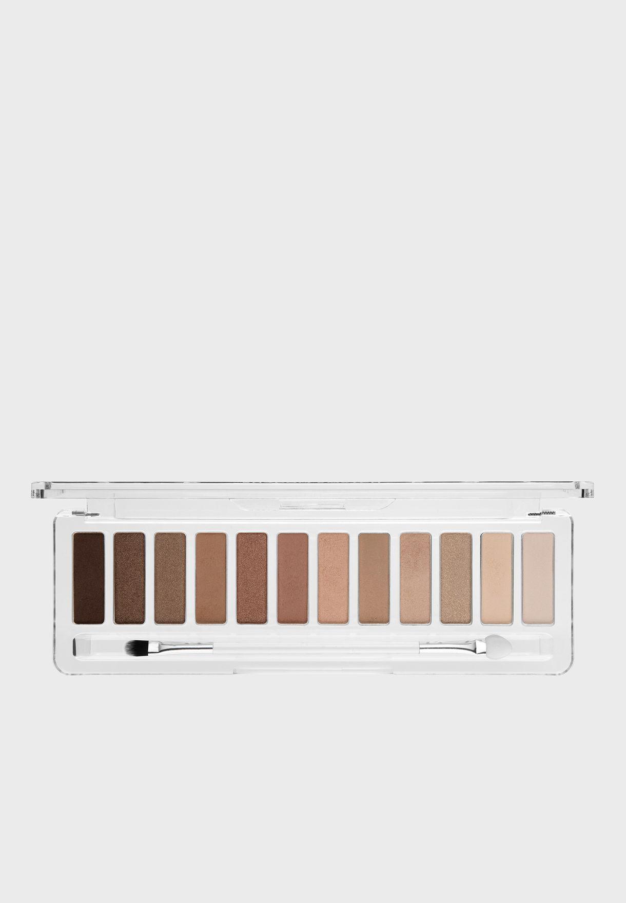 12 Pack Eyeshadow Palette - The Nudes