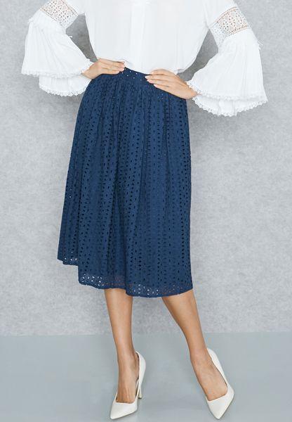 Schiffli Skirt