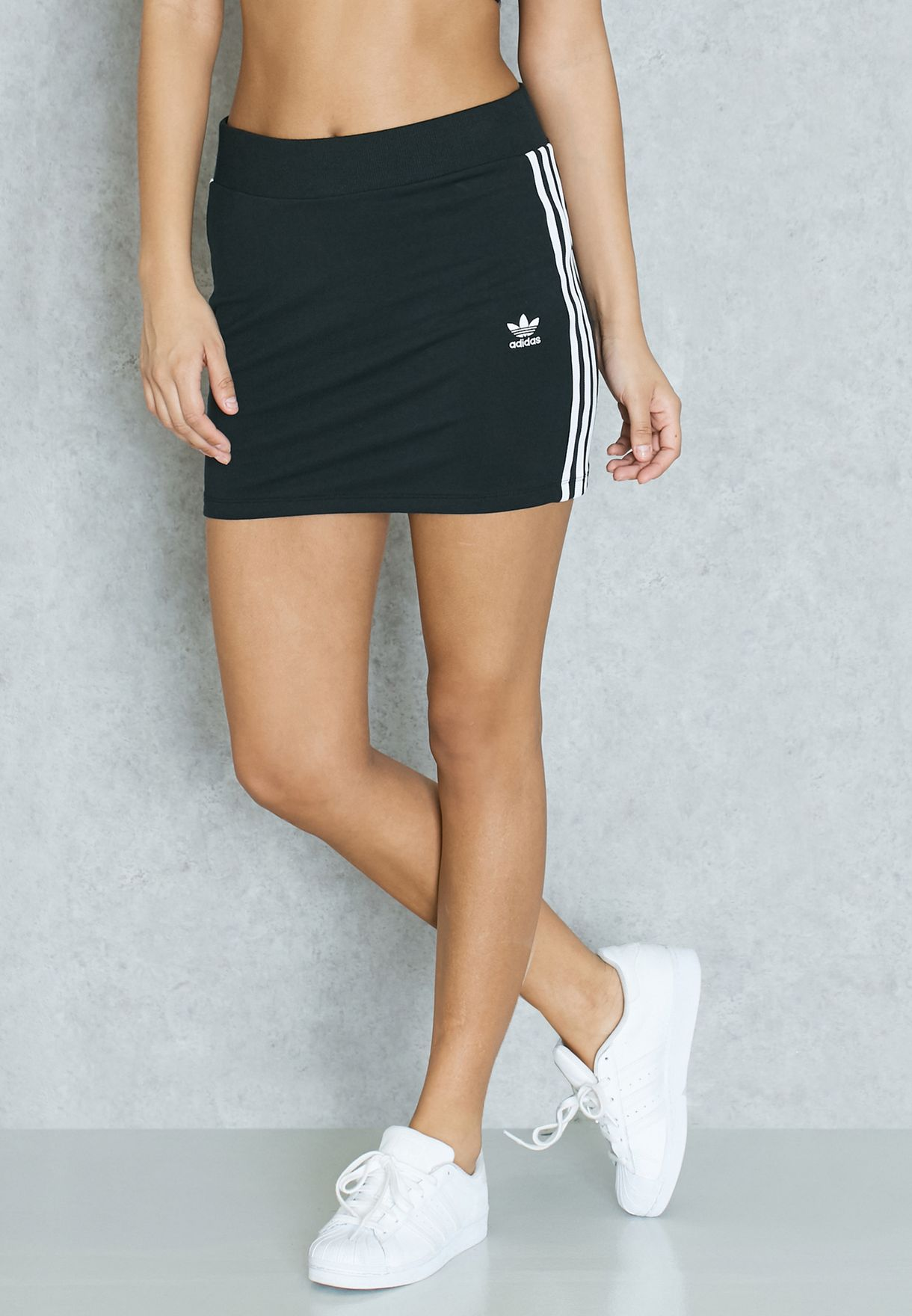 quality design 5bf12 8a282 adidas Originals. 3 Stripe Skirt